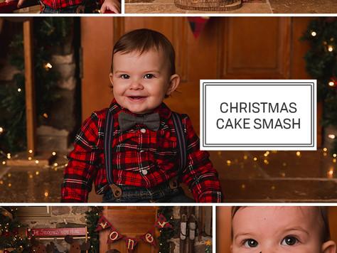 Christmas Cake Smash