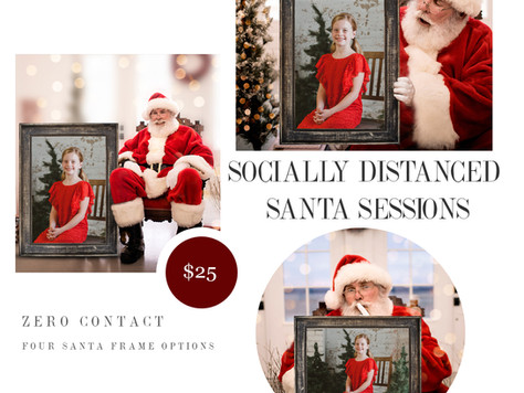 Socially Distanced Santa Sessions