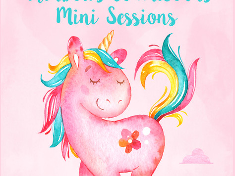 Rainbows & Unicorns Mini Sessions