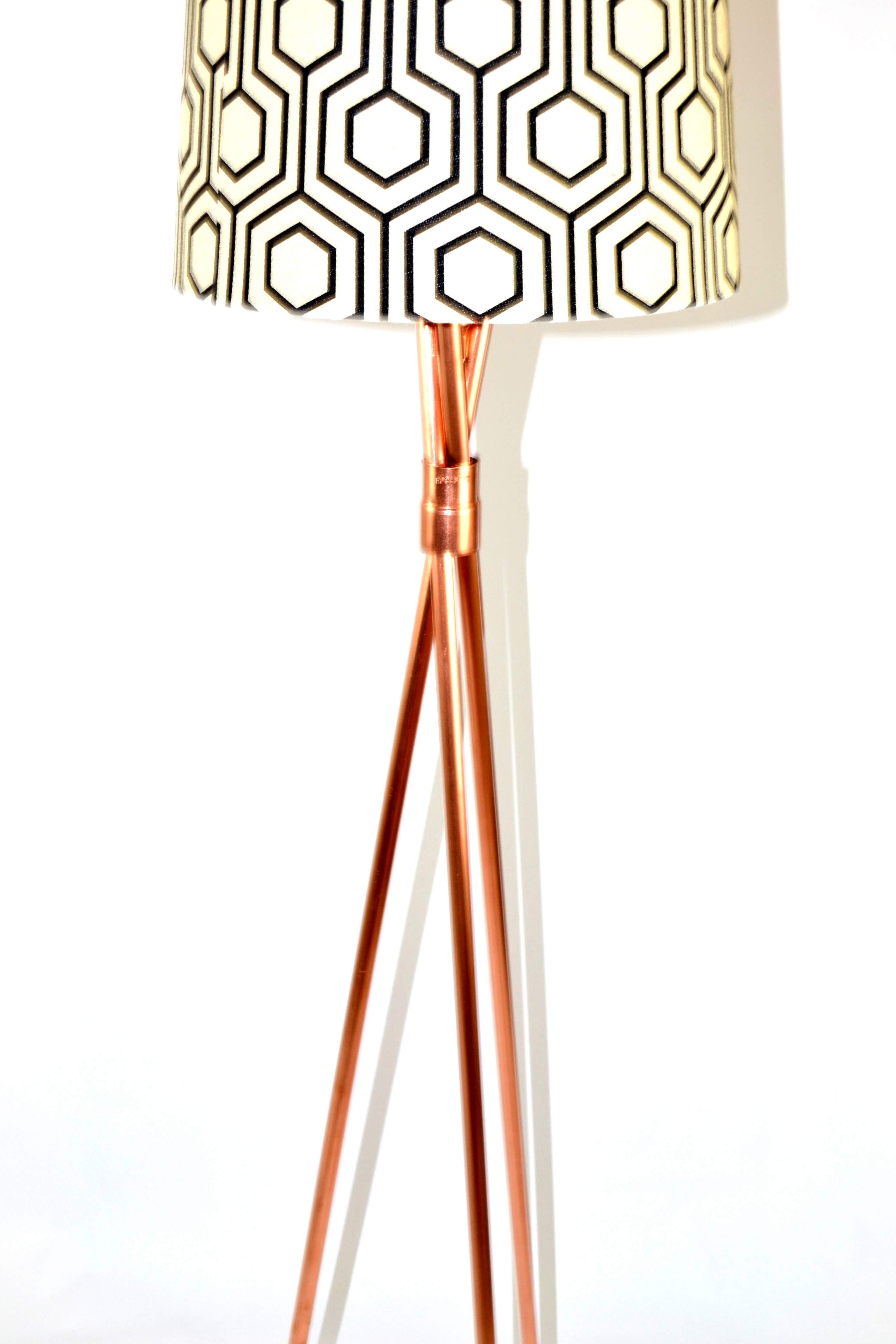 Copper Tripod V2 Closeup