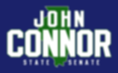 John Connor for State Senate Blue Logo.p