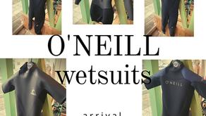 O'NEILL wetsuits入荷‼︎