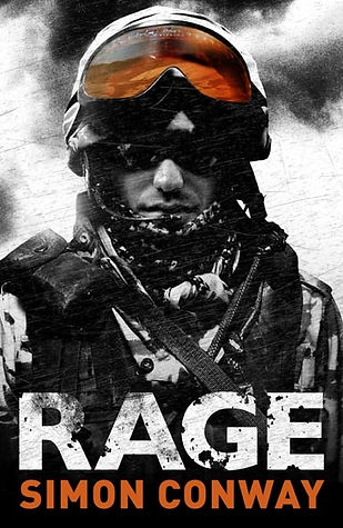 Rage Book by Simon Conway