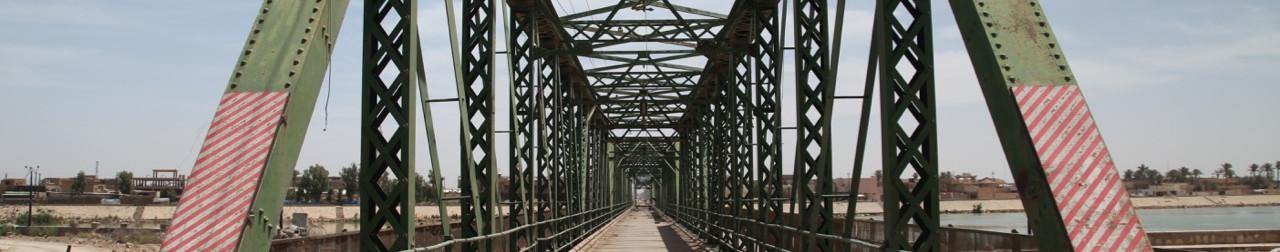 Metal Bridge, Fallujah