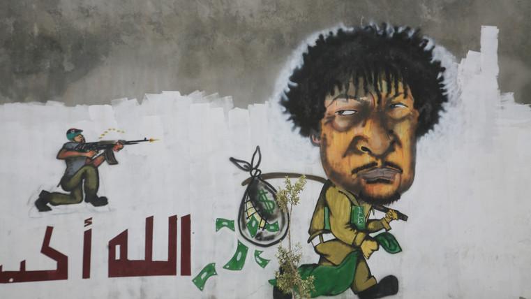 Gaddafi the thief