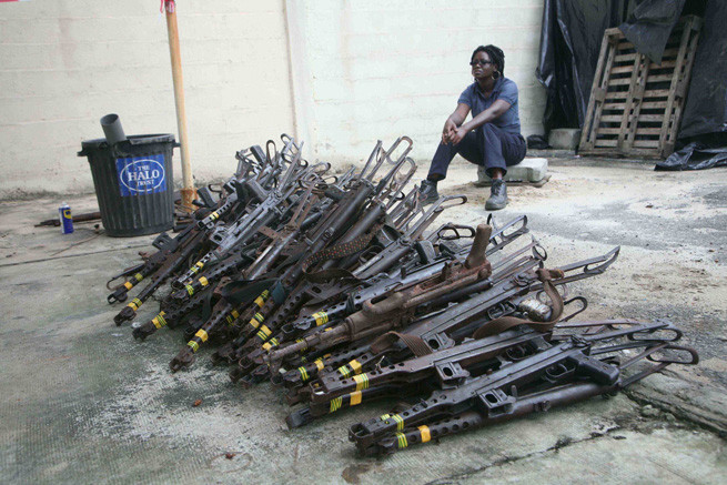 Cote D'Ivoire weapons