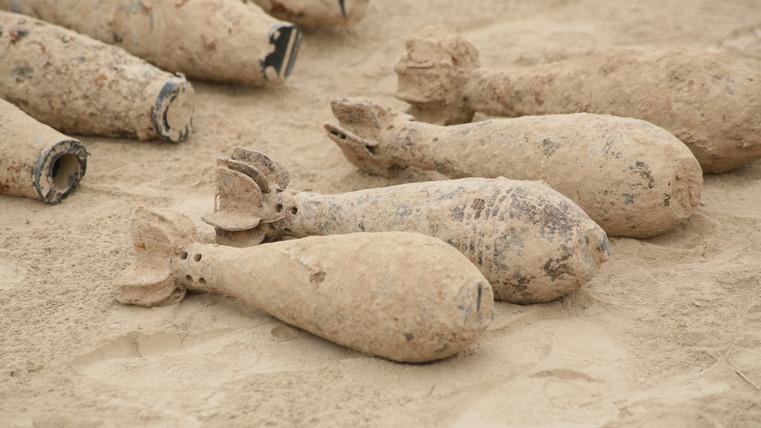 Mortar bombs