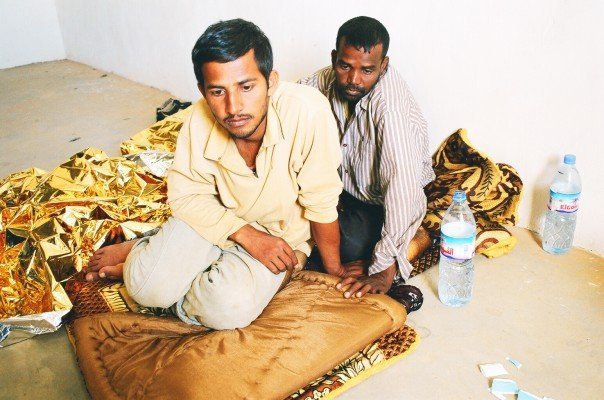 Bengali migrants rescued in the Sahara