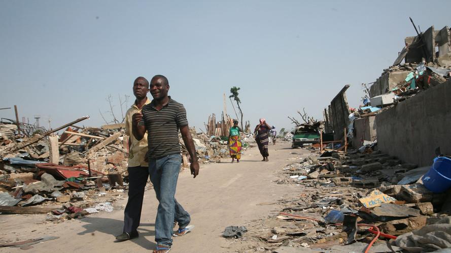 Mpila Ammunition Depot explosion