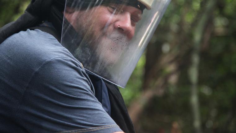 Simon Conway in Cambodia