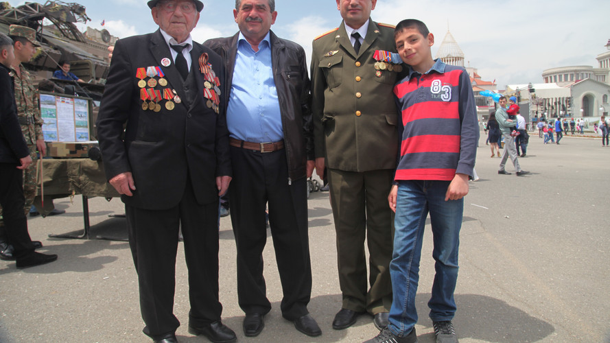 """""""Victory Day"""" in Stepanakert"""