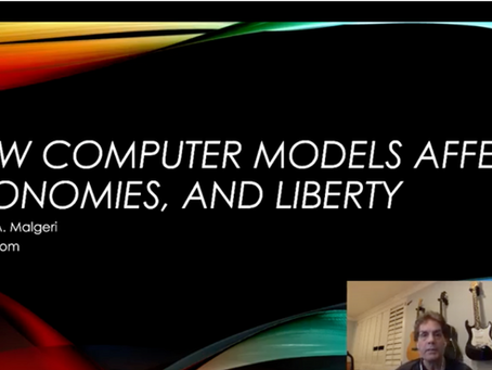 How Computer Models Affect the Economy and Liberty