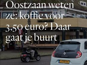 In Tuindorp Oostzaan weten ze: koffie voor 3,50 euro? Daar gaat je buurt
