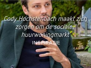 Cody Hochstenbach maakt zich zorgen om de sociale-huurwoningmarkt