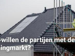 Wat willen de partijen met de woningmarkt?