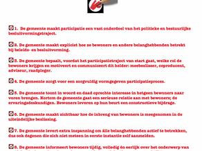 Red Amsterdam Noord: participatieprotocol