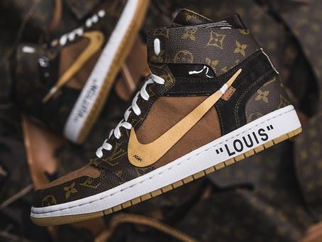 Luxury Meets Streetwear: The Louis Vuitton X Nike Air Force 1 Collab
