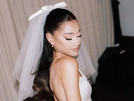 Ariana Grande's Vintage-Inspired Wedding Look is A Modern Classic
