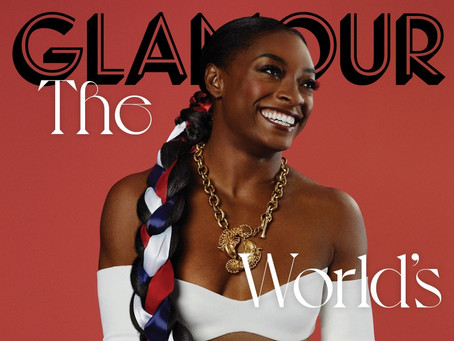 Beauty and Balance: Simone Biles on the Cover of Glamour Magazine