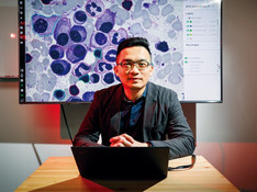 Joe Yeh, an M.D., who is a self-taught AI engineer, is now the AI trainer for Taiwan's top medical c