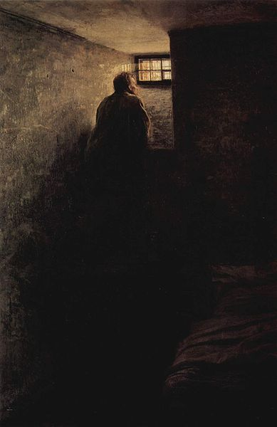 Yaroshenko, Nikolai (1846-1898) - 1878 The Prisoner