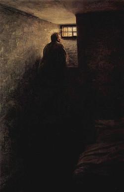 Yaroshenko, Nikolai (1846-1898) - 1878 The Prisoner