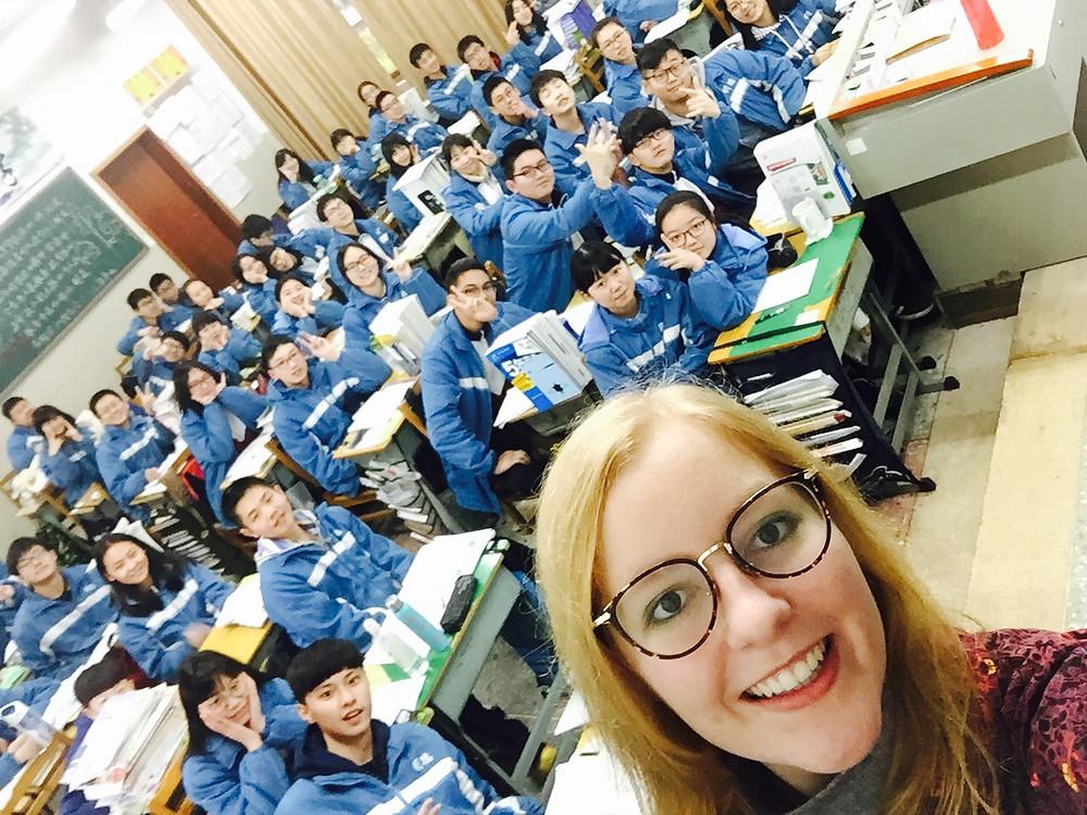 Teaching in China!