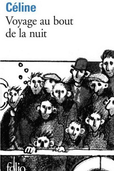 CÉLINE, L-F Voyage au bout de la nuit 9782070360284 1952