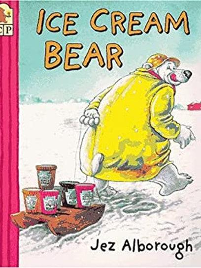ALBOROUGH, Jez: Ice Cream Bear SCHOLASTIC 0590282867