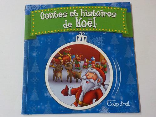 Contes et histoires de Noël Éditions Coup d'œil 9782897312077 2013