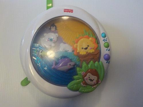 Aquarium pour couchette de bébé Fisher Price
