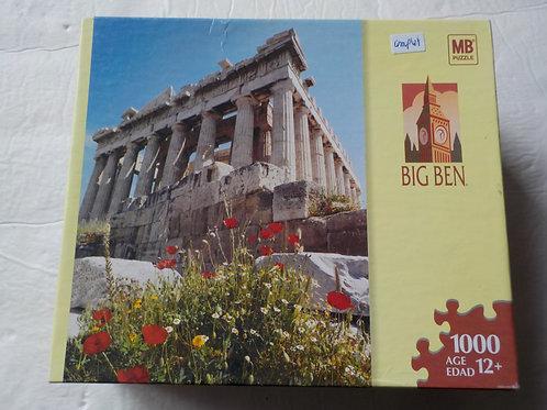 Athènes Grèce Big Ben Casse-tête MB Puzzle 1000 morceaux