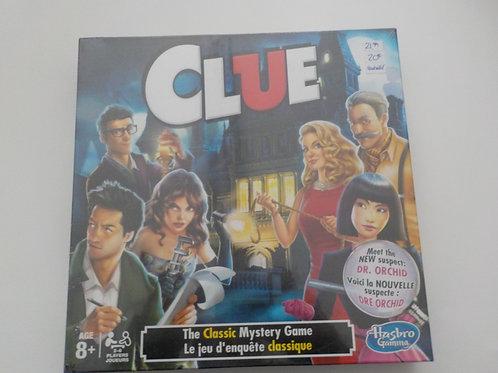 Clue Jeu d'enquête classique + Dre Orchid A5824 Jeux 8 ans et plus