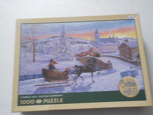 An Old-Fashioned Christmas Casse-tête  Cobble Hill 1000 Morceaux