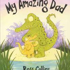 COLLINS, Ross: My amazing Dad 9781416916703