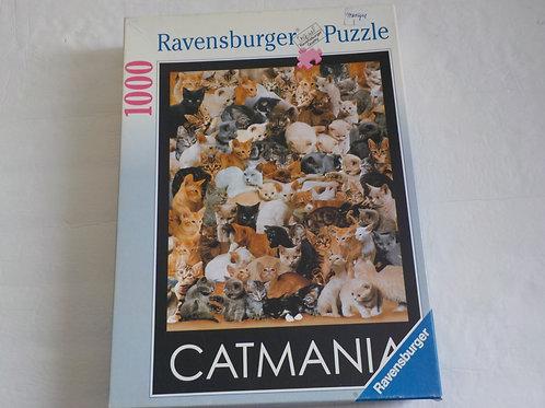 Catmania 156290 Casse-tête Ravensburger 1000 morcea