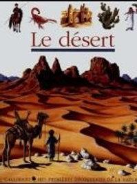 Mes premières découvertes: Le désert Gallimard 9782070540891 2000