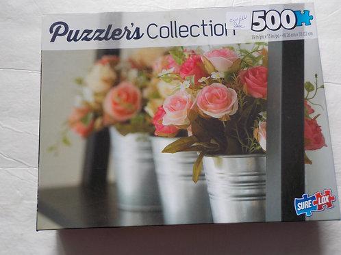 Bouquet de roses 40202-16 Sure Lox Casse-tête 500 morceaux
