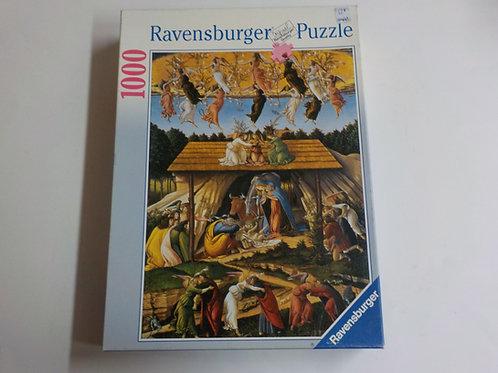BOTTICELLI: La naissance du Christ Casse-tête 157761 Ravensburger 1000 morceaux