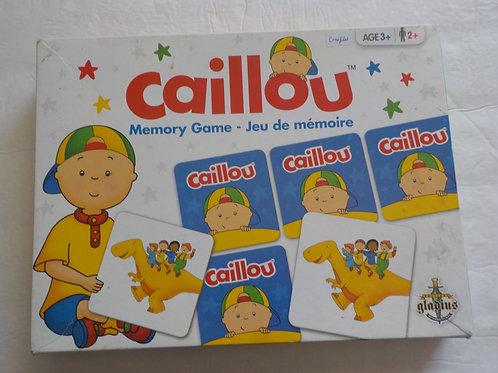 Mémoire Caillou Gladius GLA9182 Jeux 3 ans +