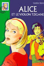 QUINE, Caroline: Alice et le violon tzigane Bibilo verte 9782012003644 2000