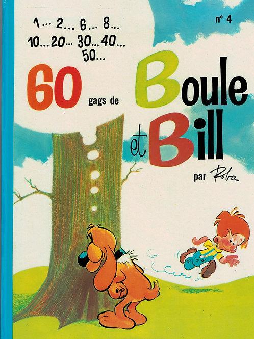 ROBA Boule et Bill 60 gags Boule et Bill 1967