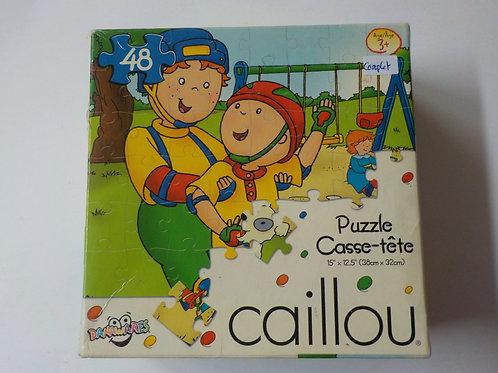 Caillou C'est le printemps Danawares Casse-tête 48 morceaux 059562332487
