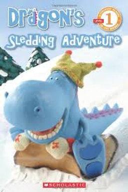 Dragon's Sledding Adventure Scholastic 9780545200592 2011