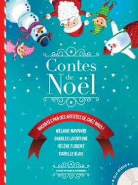 CHARBONNEAU: Contes de Noël raconté par des artistes de chez nous !9782923956787