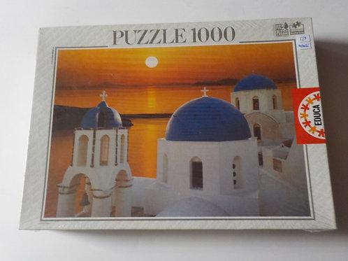 Coucher de soleil Santorini 12047 Casse-tête Educa 1000 morceaux