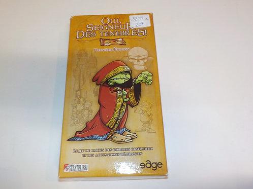 CROSA Oui Seigneur des ténèbres ! 2e édition STRATELIBRI Jeux 14 ans et plus