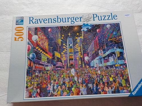Bonne année à Time Square Ravensburger 164233 Casse-tête 500 morceaux