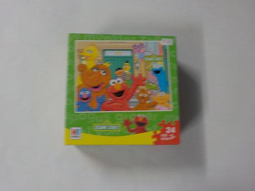123 Sesame Street MB Puzzle 49440 Casse-tête 24 morceaux