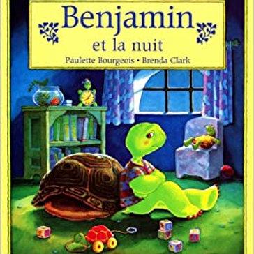 BOURGEOIS CLARK Benjamin et la nuit 0590717383 SHOLASTIC 1986